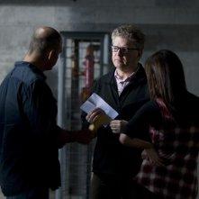 Bait: il regista Kimble Rendall sul set insieme a Phoebe Tonkin e Martin Sacks