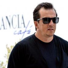 Gabriele Muccino arriva al Lancia Café nel corso della Mostra del Cinema di Venezia