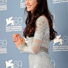 Olga Kurylenko presenta To the Wonder a Venezia 2012