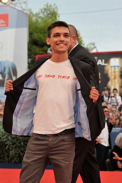 Christian Floris Sul Tappeto Rosso Per To The Wonder A Venezia 2012 250347