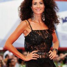 Randi Ingerman sul tappeto rosso per To the Wonder a Venezia 2012