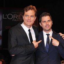 Venezia 2012: Michael Shannon e il regista di 'The Iceman' Ariel Vromen sul red carpet