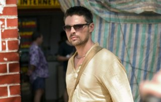 Karl Urban in una scena del film The Bourne Supremacy