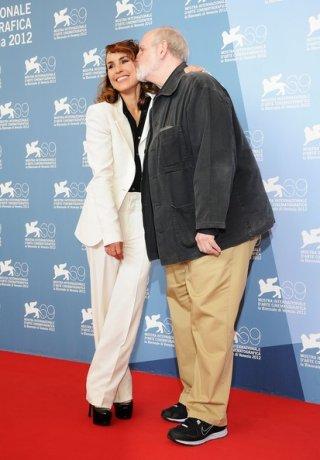 Brian De Palma e Noomi Rapace a Venezia 69 con Passion