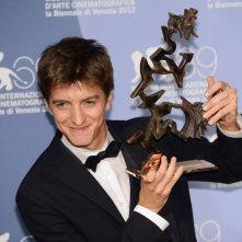 Venezia 2012: Fabrizio Falco col Premio Mastroianni per E' stato il figlio e Bella addormentata