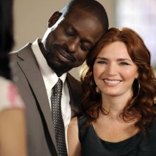 Army Wives: Brigid Brannagh e Sterling K. Brown nell'episodio Ferite inguaribili