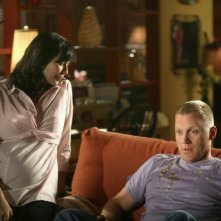 Army Wives: Catherine Bell e Terry Serpico in una scena dell'episodio Nuovi ordini