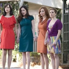 Army Wives: Kim Delaney, Catherine Bell, Brigid Brannagh e Sally Pressman nell'episodio Tutta la nazione grata