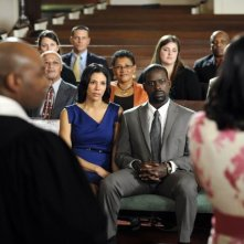 Army Wives: Wendy Davis e Sterling K. Brown nell'episodio Ferite inguaribili