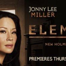 Elementary: un poster con sviluppo orizzontale della nuova serie