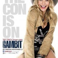 Gambit: Character Poster per Cameron Diaz