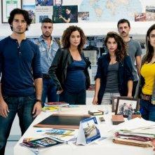 Squadra antimafia - Palermo oggi 4: una foto promozionale del cast