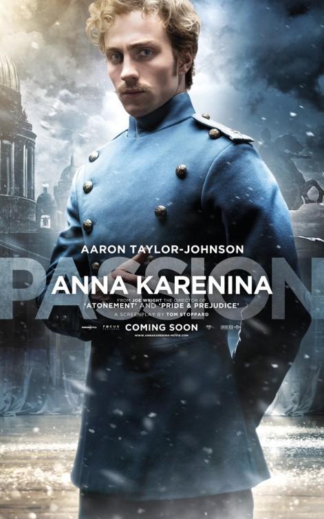 Anna Karenina Character Poster Per Aaron Taylor Johnson 250766