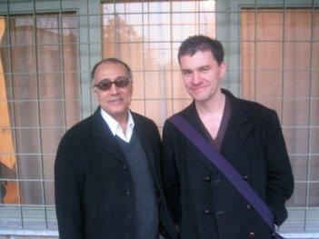The Story of Film: il regista del film Mark Cousins insieme ad Abbas Kiarostami