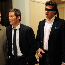 The Wedding Party: Hayes MacArthur, James Marsden, Adam Scott e Kyle Bornheimer in una scena