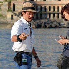 Vitriol: il regista del film Francesco Afro De Falco con la protagonista Roberta Astuti sul set