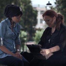 Vitriol: la protagonista Roberta Astuti in una scena insieme a Gabriella Cerino