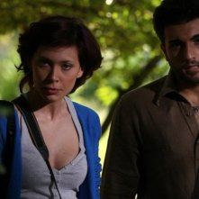 Vitriol: Roberta Astuti insieme a Yuri Napoli in una scena del film