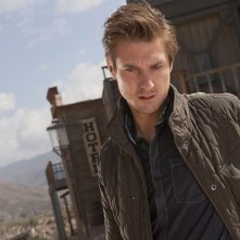 Arthur Darvill in un'immagine promozionale dell'episodio A Town Called Mercy della settima stagione di Doctor Who