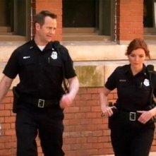 Brigid Brannagh in un scena dell'episodio Scontro a fuoco della quinta stagione di Army Wives - Conflitti del cuore