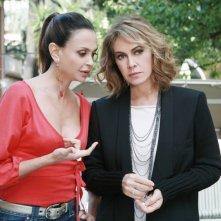 I Cesaroni 5: Elda Alvigini ed Elena Sofia Ricci in una scena
