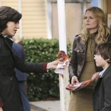 Once Upon a Time: Jennifer Morrison, Lana Parrilla e Jared Gilmore nell'episodio Desperate Souls
