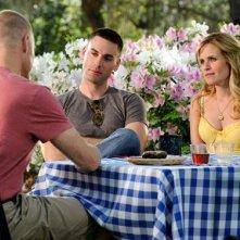 Sally Pressman e Drew Fuller nell'episodio Zona di lancio della quinta stagione di Army Wives - Conflitti del cuore