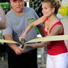 Sally Pressman in una scena dell'episodio Addio alle armi della quinta stagione di Army Wives - Conflitti del cuore