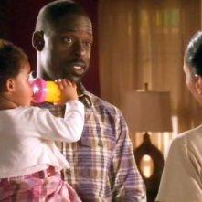 Sterling K. Brown in un scena dell'episodio Scontro a fuoco della quinta stagione di Army Wives - Conflitti del cuore