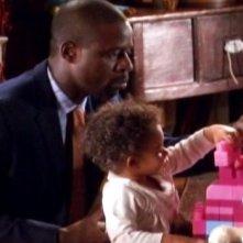 Sterling K. Brown in una scena dell'episodio Addio al nubilato della quinta stagione di Army Wives - Conflitti del cuore