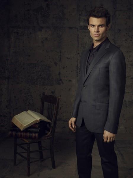 The Vampire Diaries Daniel Gillies In Una Foto Promozionale Della Stagione 4 251130