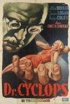 Il dottor Cyclops: la locandina del film