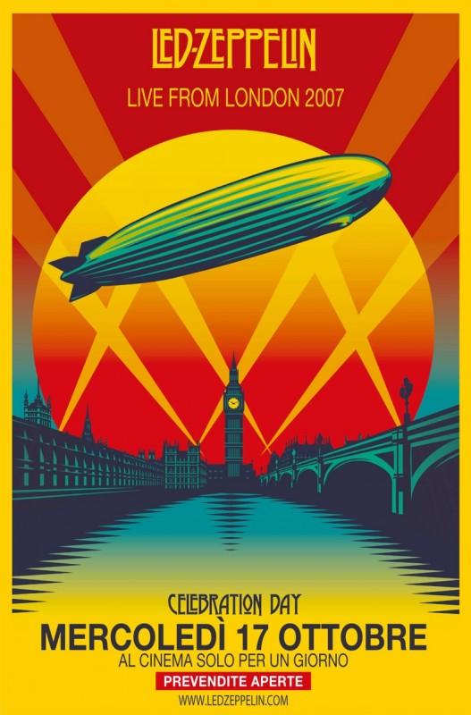 Led Zeppelin Celebration Day La Locandina Del Film 251280