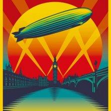 Led Zeppelin: Celebration Day: la locandina del film