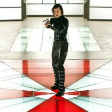 Milla Jovovich in Resident Evil: Retribution del 2012