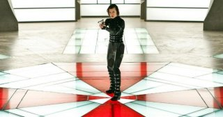 Milla Jovovich in Resident Evil: Retribution del 2012