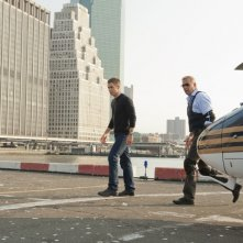 Jack Ryan - L'iniziazione: Chris Pine e Kevin Costner in una scena del film incentrato sul personaggio letterario di Tom Clancy