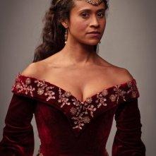 Angel Coulby in una foto promozionale della quinta stagione di Merlin