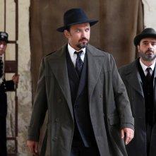 Cesare Mori: il prefetto di ferro: Vincent Perez in una foto di scena della fiction