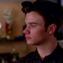 Chris Colfer in un momento dell'episodio The New Rachel della quarta stagione di Glee