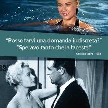 Grace Kelly e Cary Grant in Caccia al Ladro: la nostra eCard: condividi sui social le immagini e frasi dei tuoi film e attori preferiti!