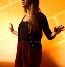 Lea Michele in una scena dell'episodio The New Rachel della quarta stagione di Glee