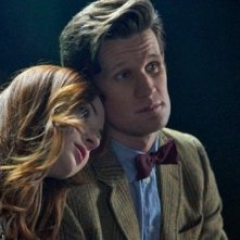 Matt Smith e Karen Gillan nell'episodio The Power of Three della serie TV Doctor Who