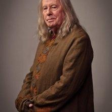 Richard Wilson in una foto promozionale della quinta stagione di Merlin