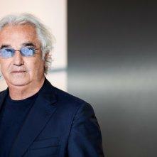 Flavio Briatore in una foto promozionale di The Apprentice Italia