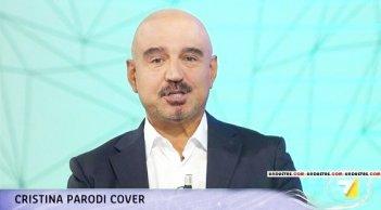 Antonio Capitani durante una puntata di Cristina Parodi Cover