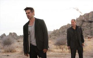 Colin Farrell e Woody Harrelson in una scena di Seven Psychopaths