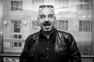 Una fotografia di Antonio Capitani, astrologo, giornalista e scrittore
