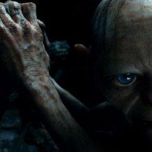 Andy Serkis nei panni di Gollum in Lo Hobbit - Un viaggio inaspettato