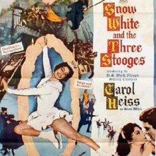 Biancaneve e i tre compari: la locandina del film